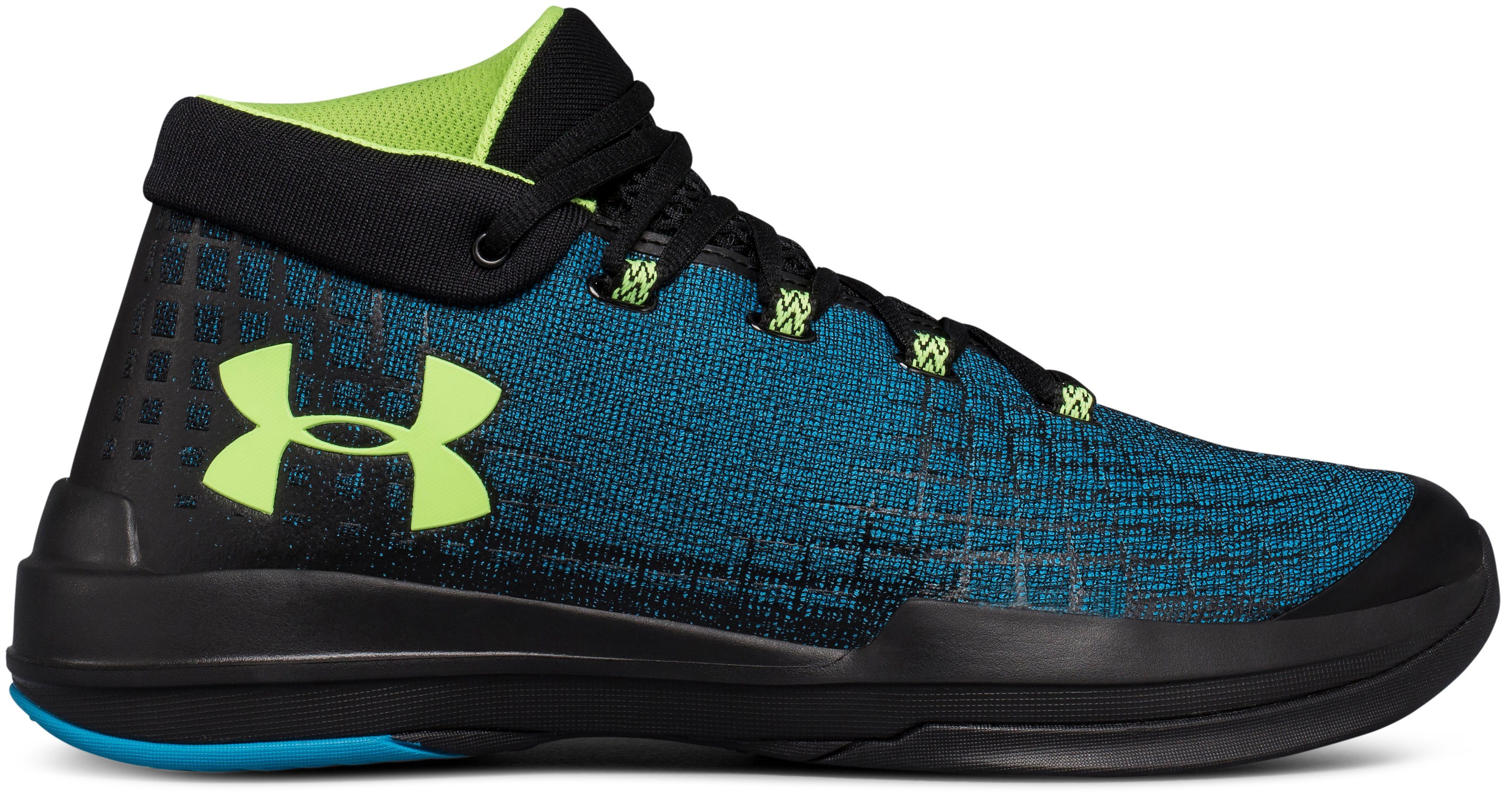 Men's UA NXT Basketball Shoes, BAYOU BLUE,