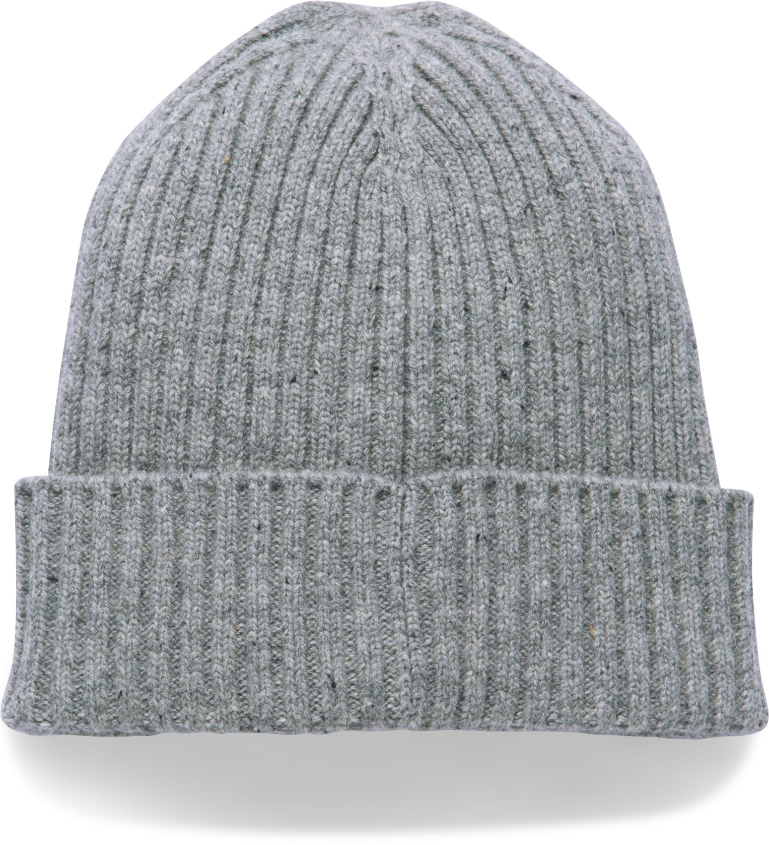 Men's UA Outdoor Performance Wool Beanie, True Gray Heather,