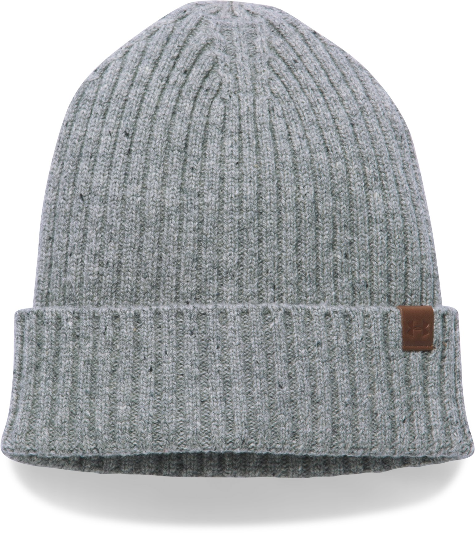 Men's UA Outdoor Performance Wool Beanie, True Gray Heather