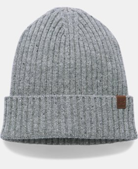 Men's UA Outdoor Performance Wool Beanie  1  Color Available $34.99