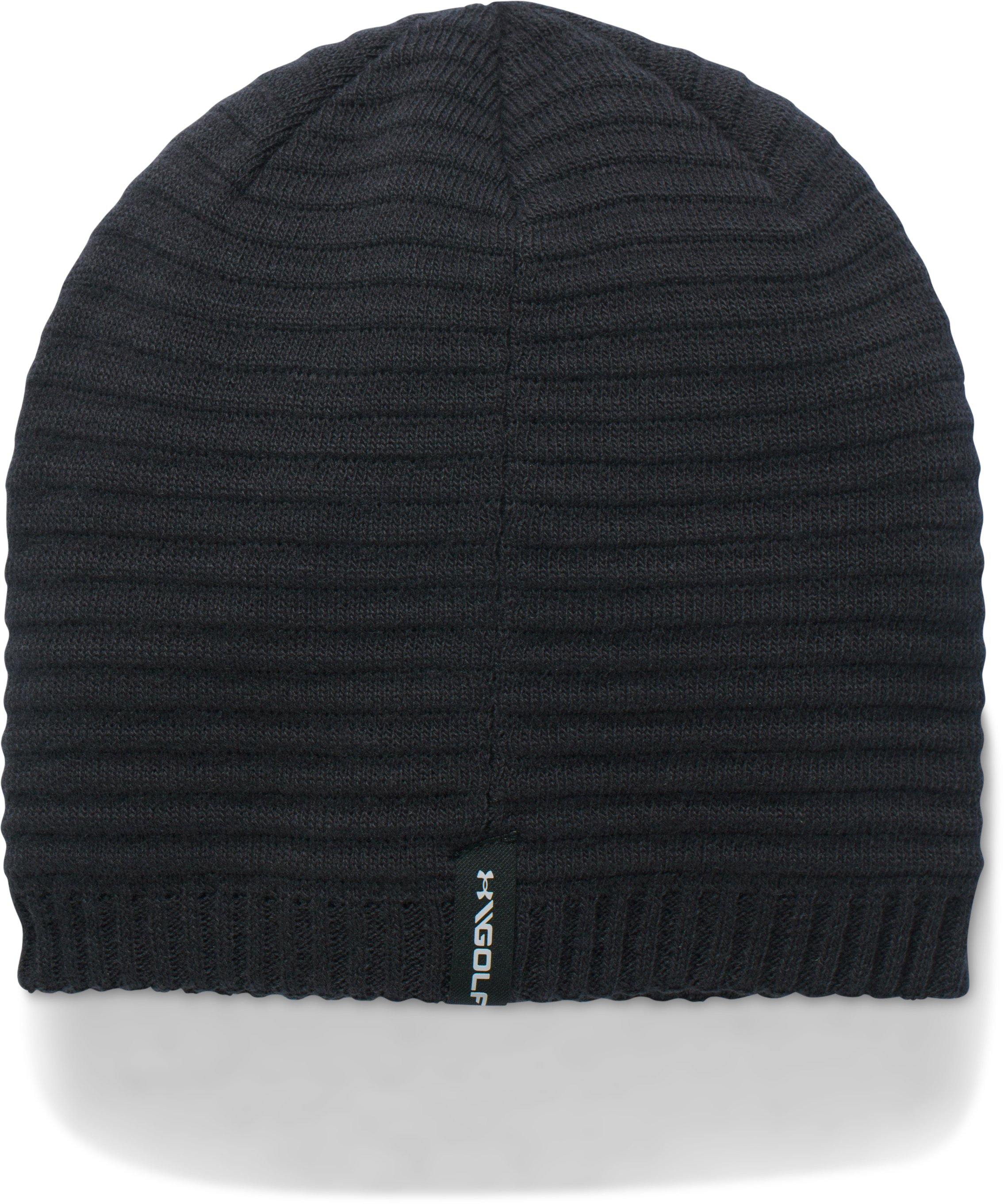 Men's UA Jacquard Knit Beanie, Black
