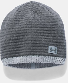 Men's UA Jacquard Knit Beanie  1 Color $24.99