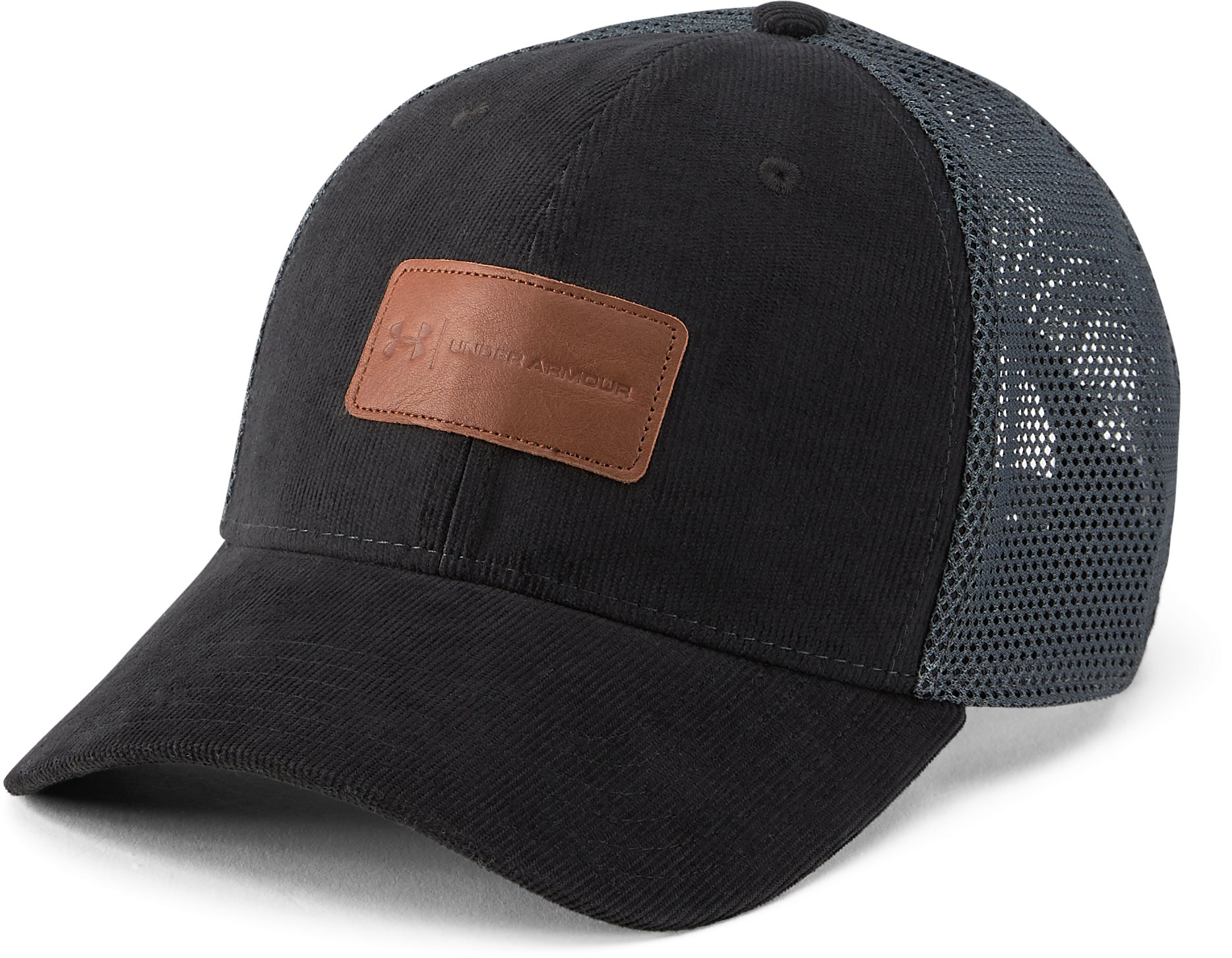 Men's UA Outdoor Performance Trucker Cap, Black ,
