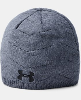 Men's UA Knit Reactor Beanie  3 Colors $34.99