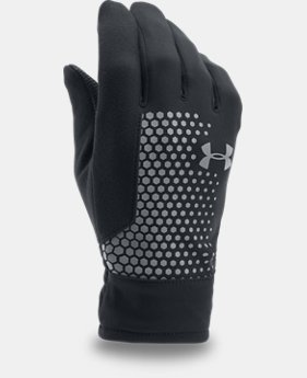 Men's UA Threadborne™ Run Gloves  1  Color Available $34.99
