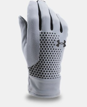 Men's UA Threadborne™ Run Gloves  1 Color $34.99