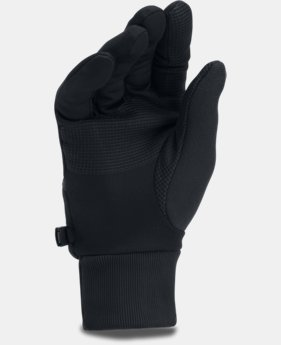 PRO PICK Men's UA Convertible ColdGear® Reactor Run Gloves LIMITED TIME OFFER 3 Colors $27.99