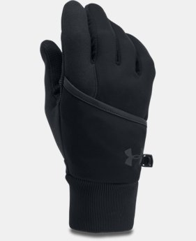 Men's UA Convertible ColdGear® Reactor Run Gloves  1  Color Available $44.99