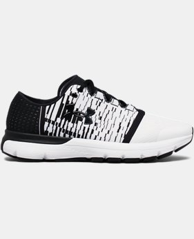 New to Outlet Men's UA SpeedForm® Gemini 3 Graphic Running Shoes  1 Color $99.99