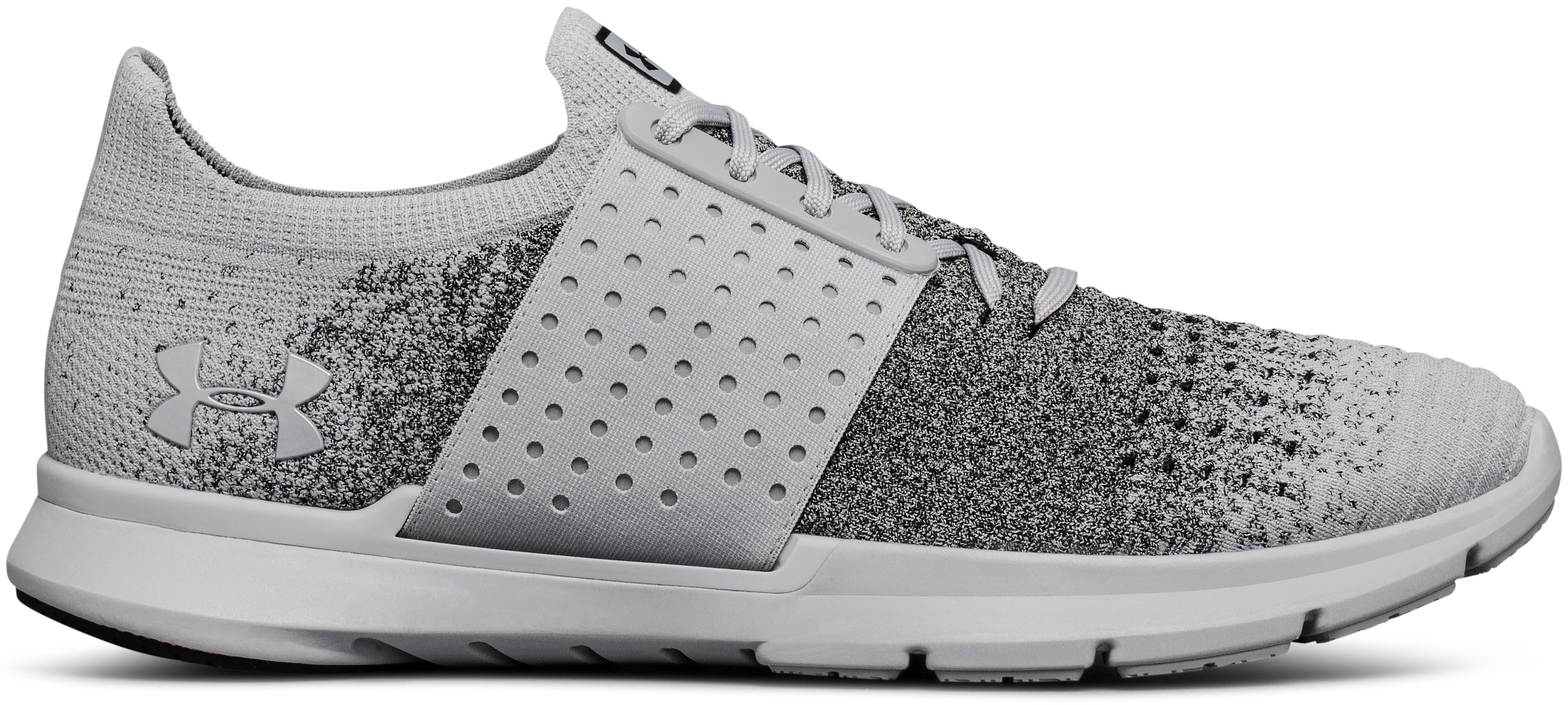 Men's UA Threadborne Slingwrap Fade Running Shoes, OVERCAST GRAY
