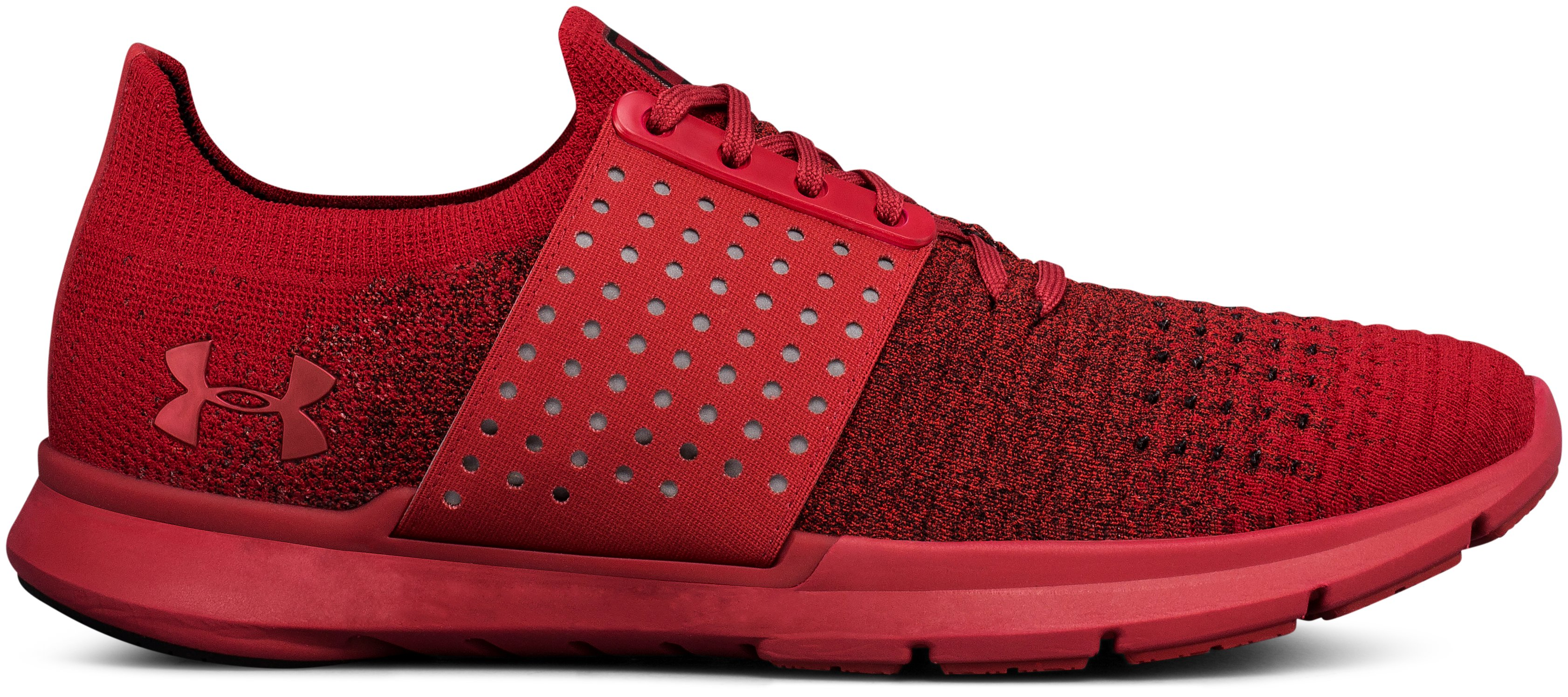 Men's UA Threadborne Slingwrap Fade Lifestyle Shoes, SPICE RED