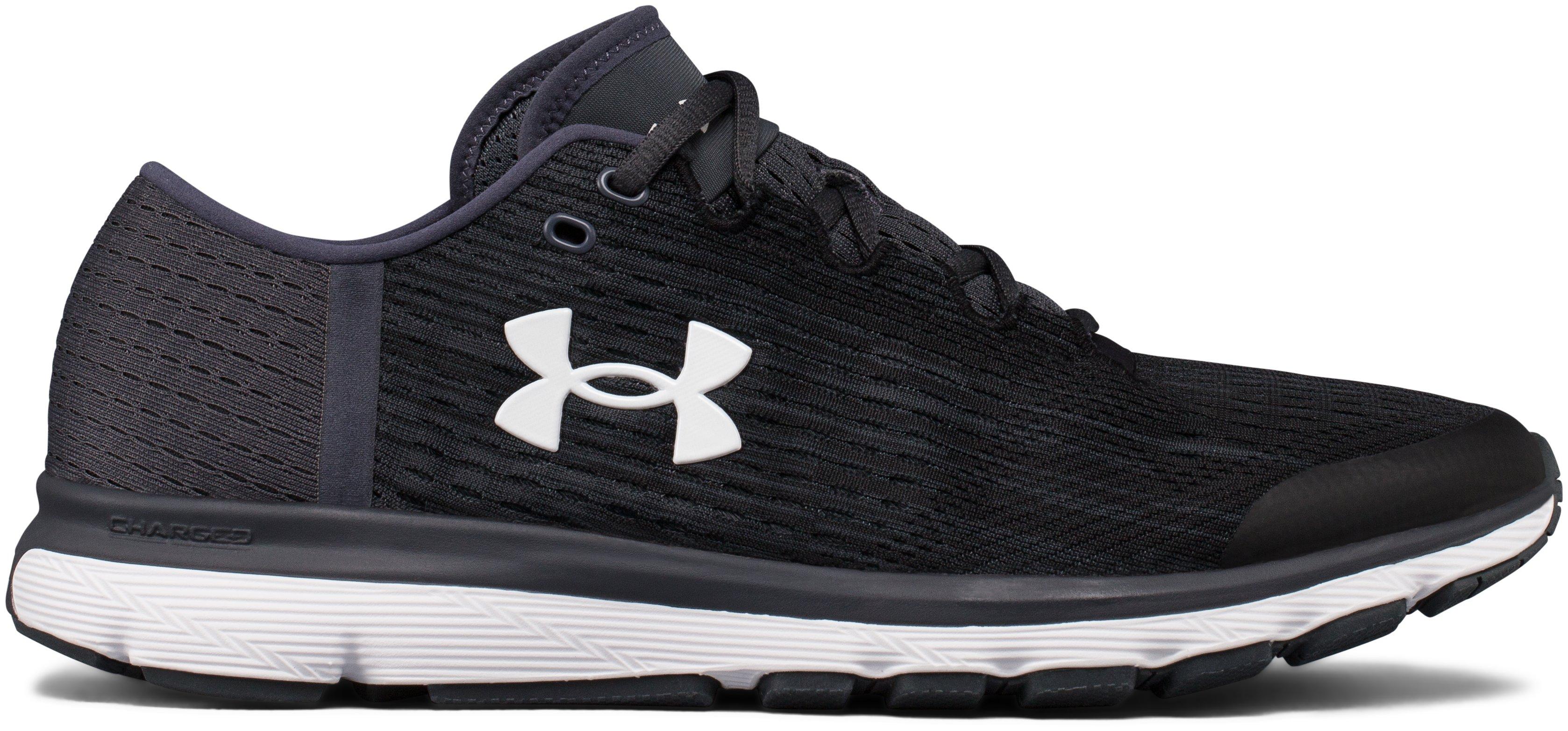 Men's UA SpeedForm® Velociti Graphic Running Shoes, 360 degree view
