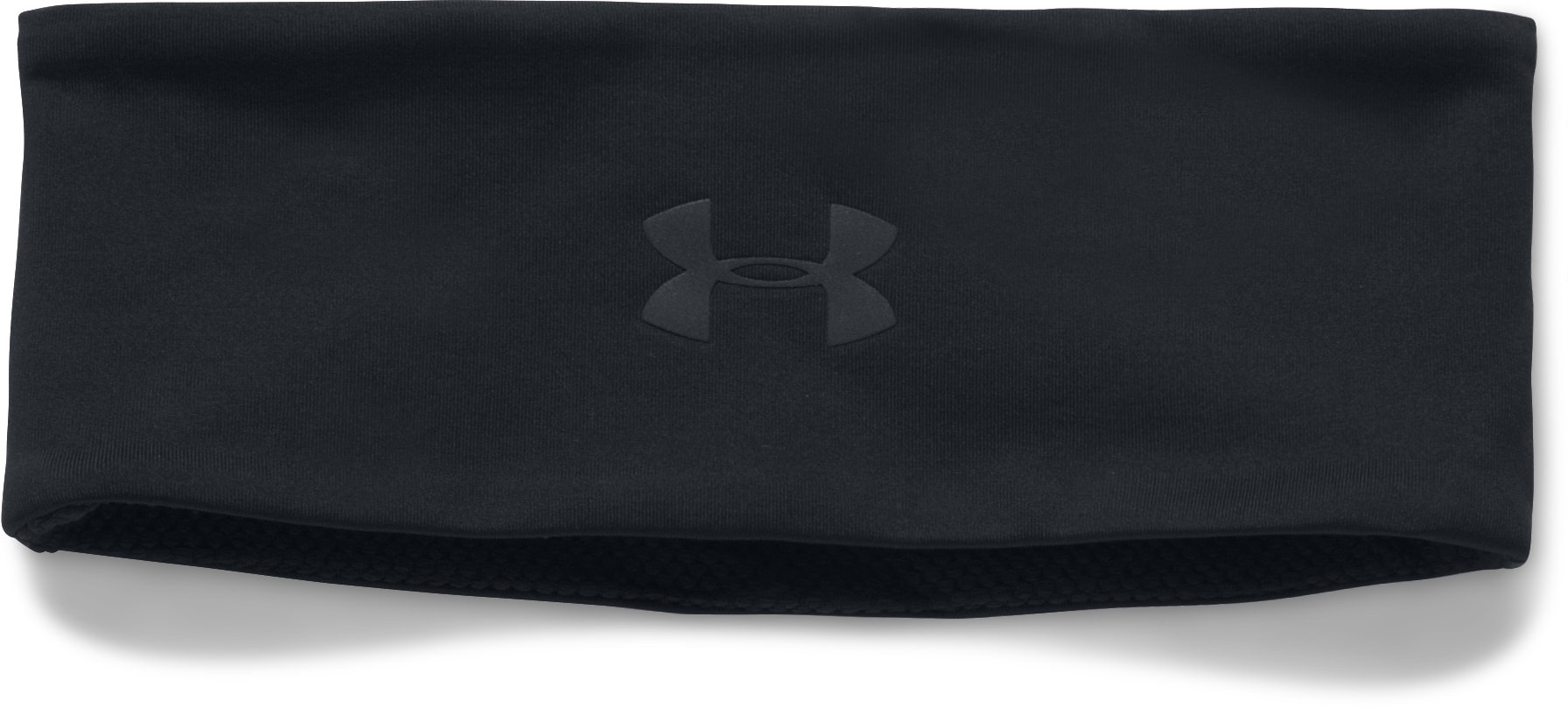Men's UA Reactor Run Earbud Headband, Black , undefined