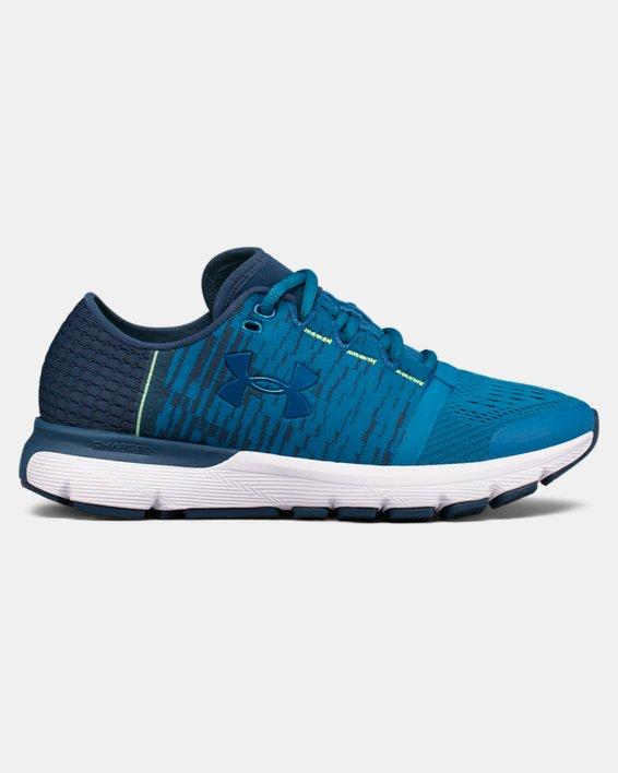 Women's UA SpeedForm® Gemini 3 Graphic Running Shoes, Blue, pdpMainDesktop image number 0