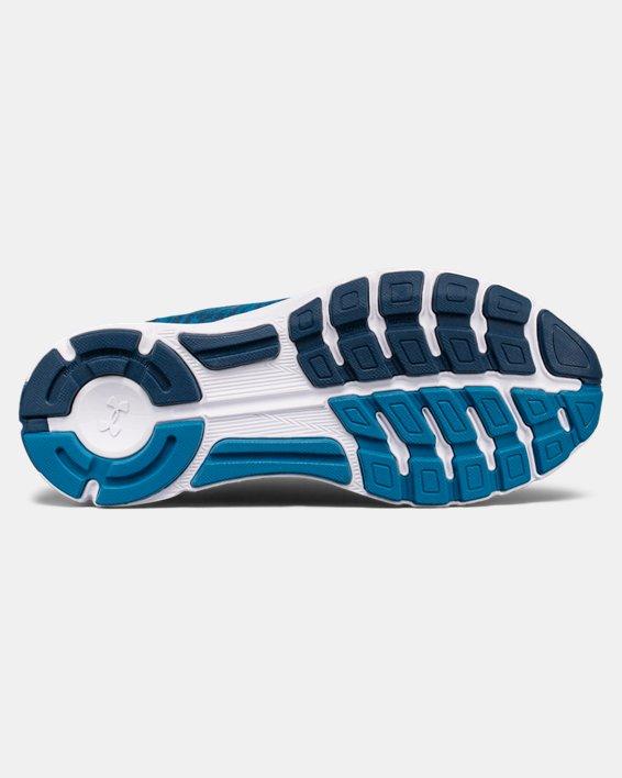 Women's UA SpeedForm® Gemini 3 Graphic Running Shoes, Blue, pdpMainDesktop image number 2