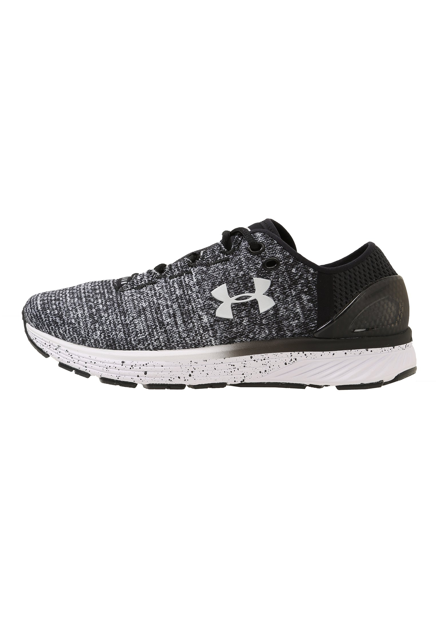 Women's UA Charged Bandit 3 Running Shoes, Black ,