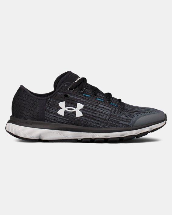 Chaussures de course UA SpeedForm® Velociti Graphic pour femme, Gray, pdpMainDesktop image number 0