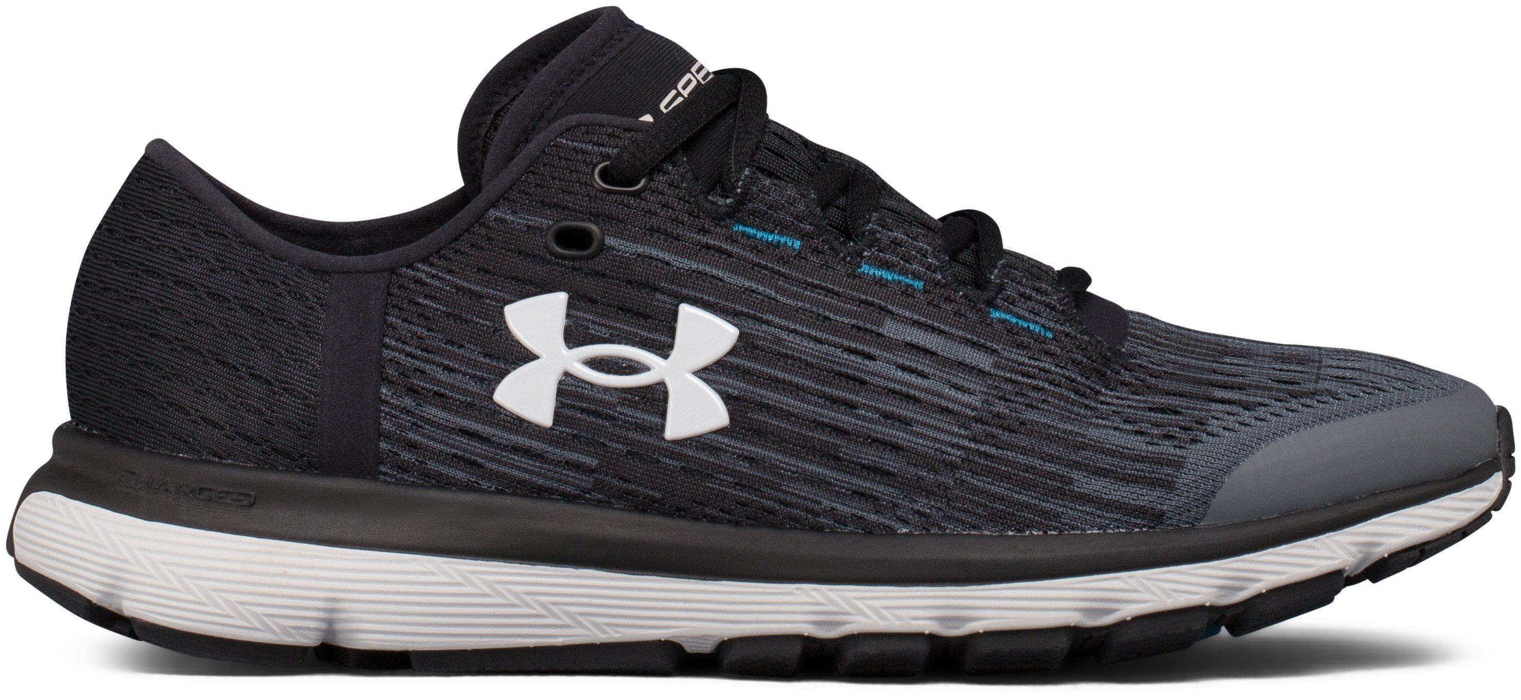 Women's UA SpeedForm® Velociti Graphic Running Shoes, 360 degree view