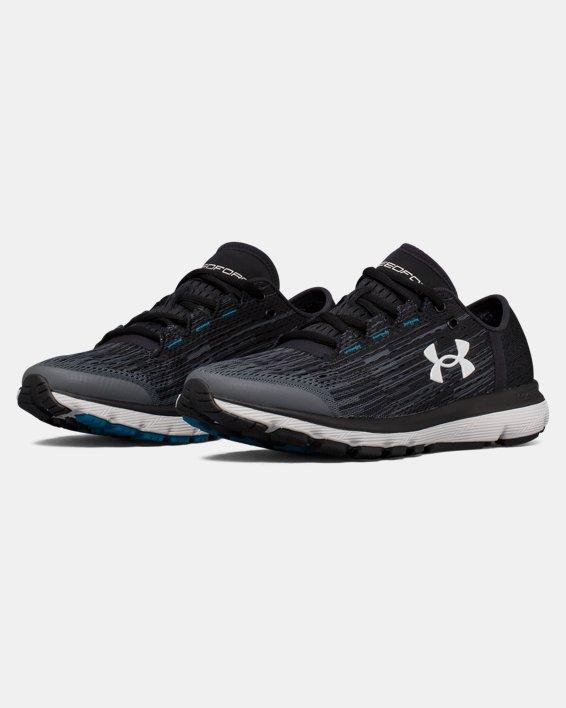 Chaussures de course UA SpeedForm® Velociti Graphic pour femme, Gray, pdpMainDesktop image number 4