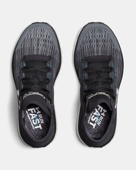 Chaussures de course UA SpeedForm® Velociti Graphic pour femme, Gray, pdpMainDesktop image number 3