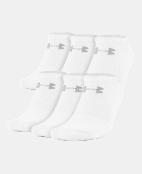 de447a7501c UA Charged Cotton® 2.0 No Show Socks – 6-Pack 1 Color Available  20
