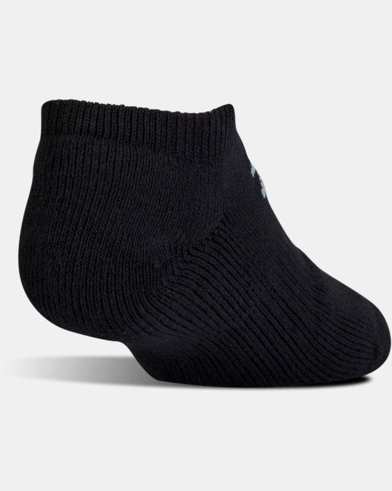 UA Charged Cotton® 2.0 No Show Socks - 6-Pack, Black, pdpMainDesktop image number 3