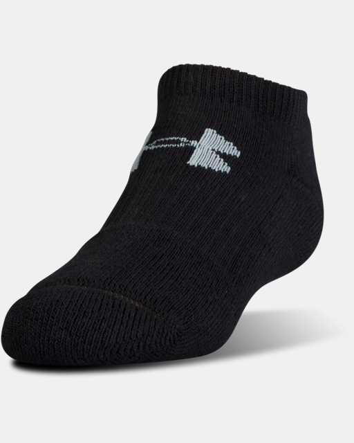 UA Charged Cotton® 2.0 No Show Socks - 6-Pack