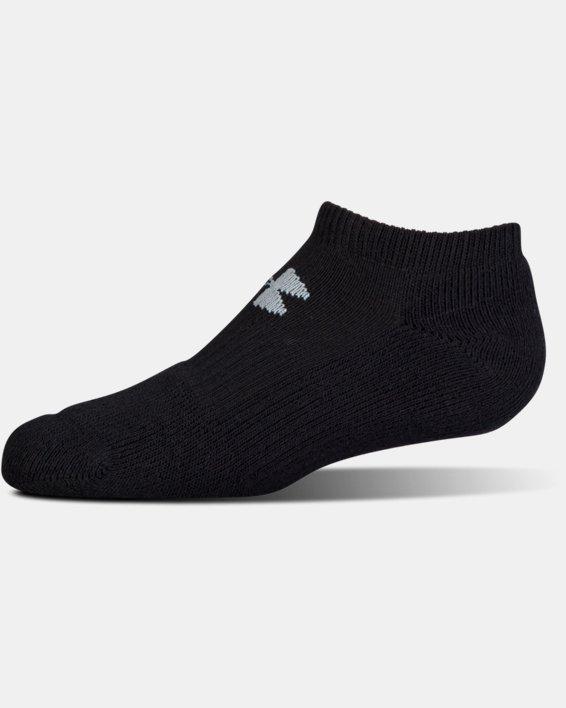 UA Charged Cotton® 2.0 No Show Socks - 6-Pack, Black, pdpMainDesktop image number 4