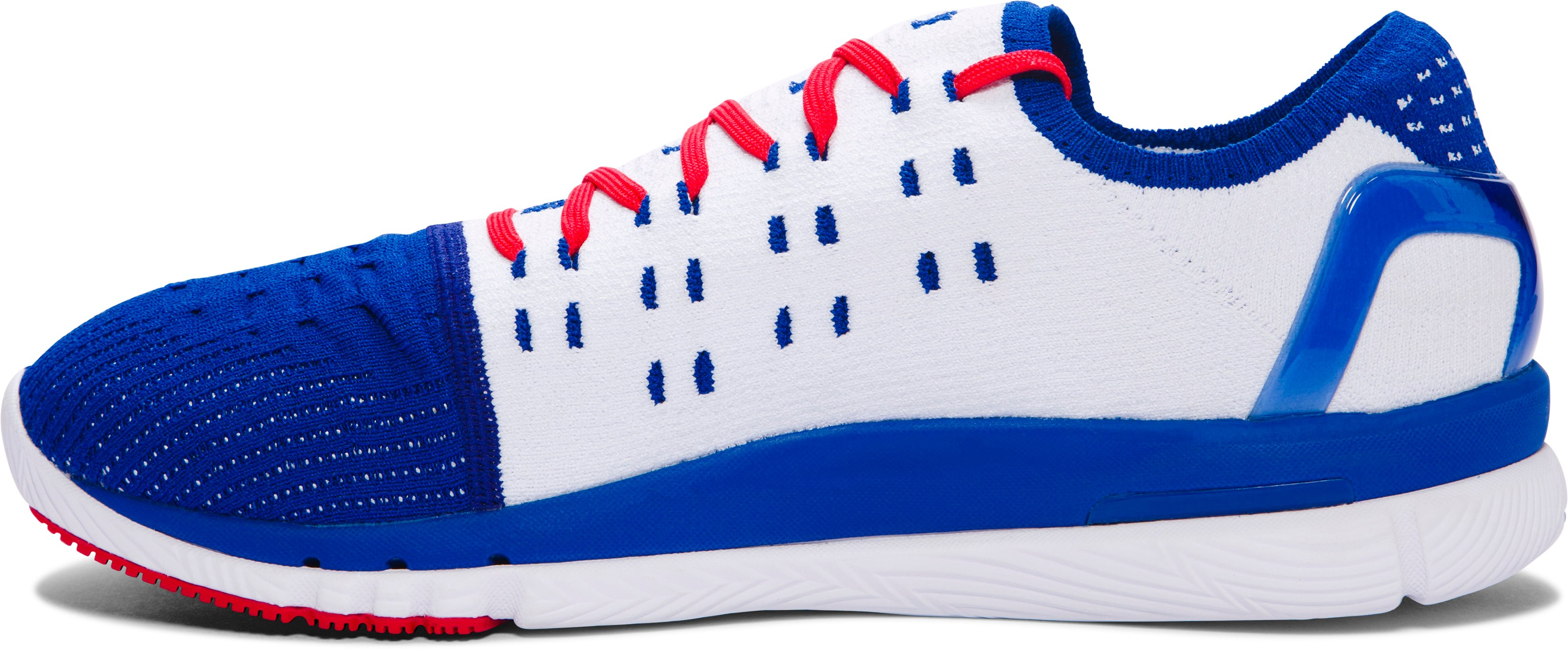 Men's UA SpeedForm® Slingshot Running Shoes — Limited Edition, Bauhaus Blue,