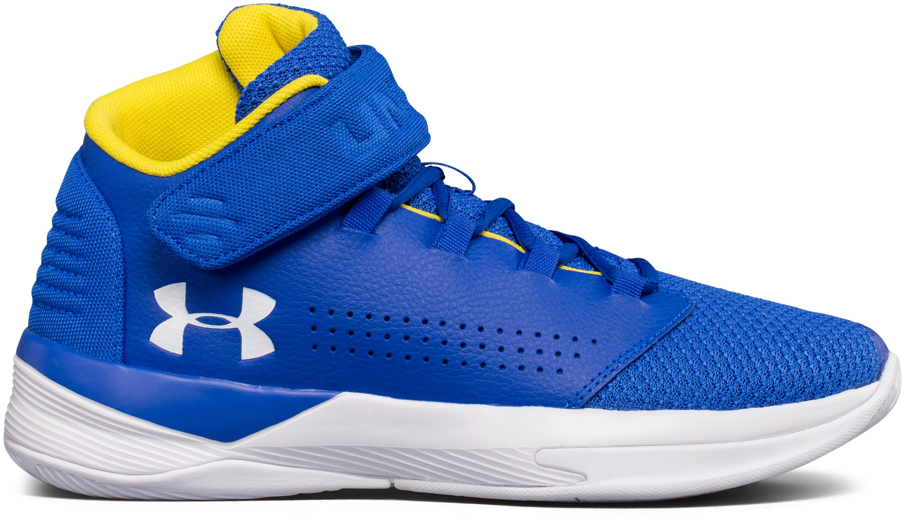 Boys' Grade School UA Get B Zee Basketball Shoes, TEAM ROYAL
