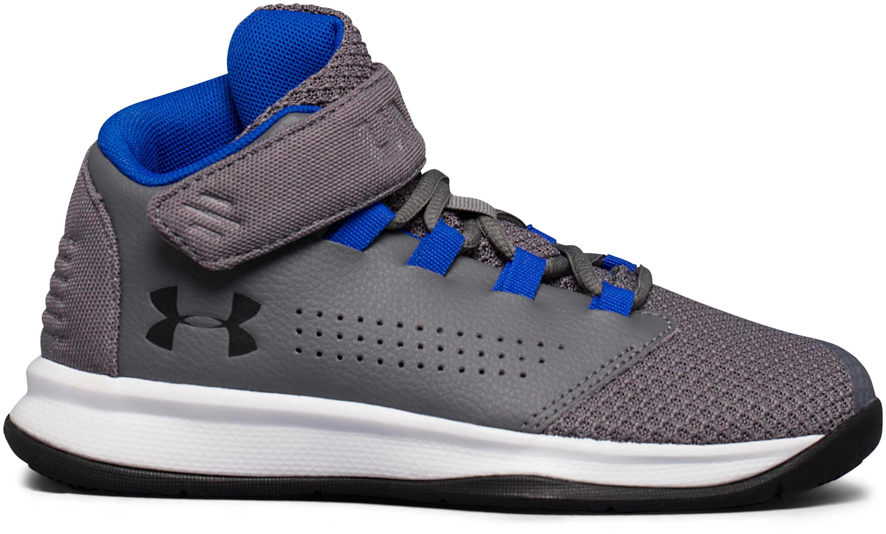 Boys' Pre-School UA Get B Zee Basketball Shoes, Graphite, undefined