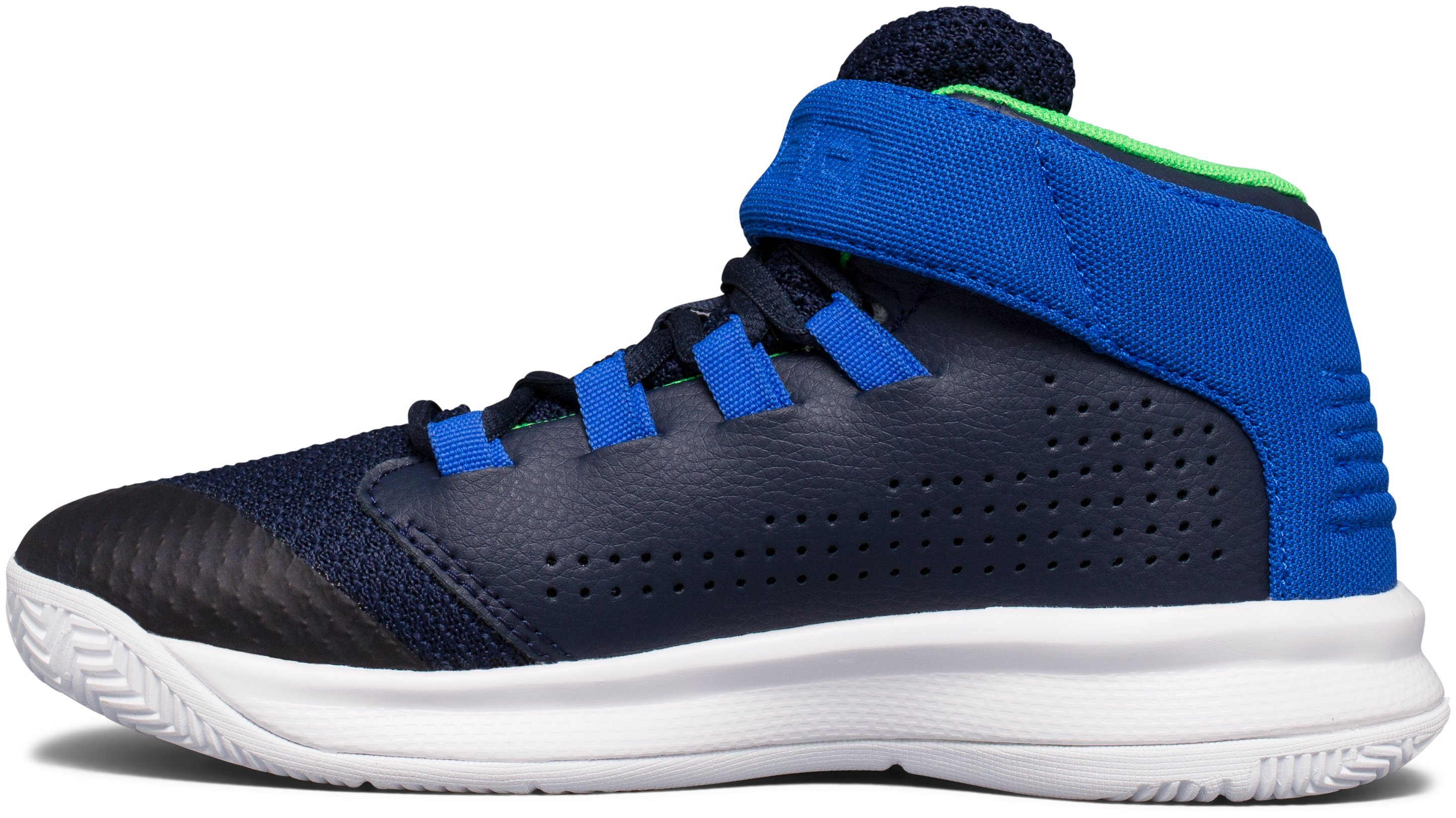 Boys' Pre-School UA Get B Zee Basketball Shoes, Midnight Navy,