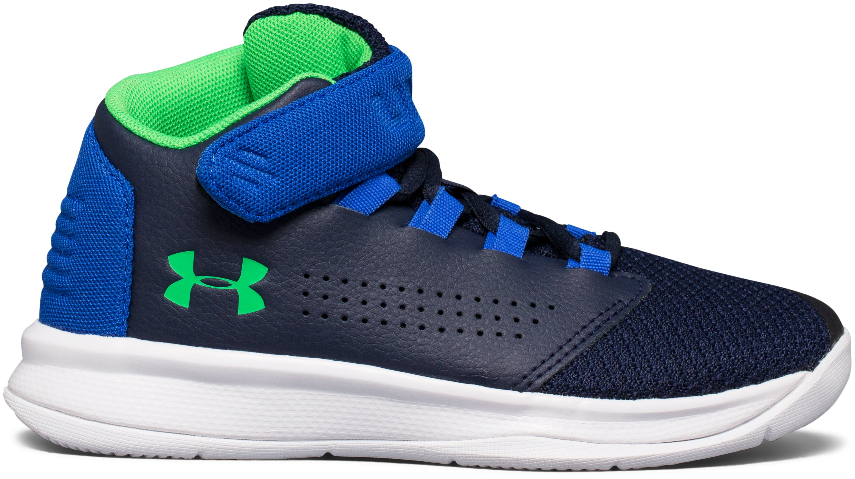 Boys' Pre-School UA Get B Zee Basketball Shoes, Midnight Navy