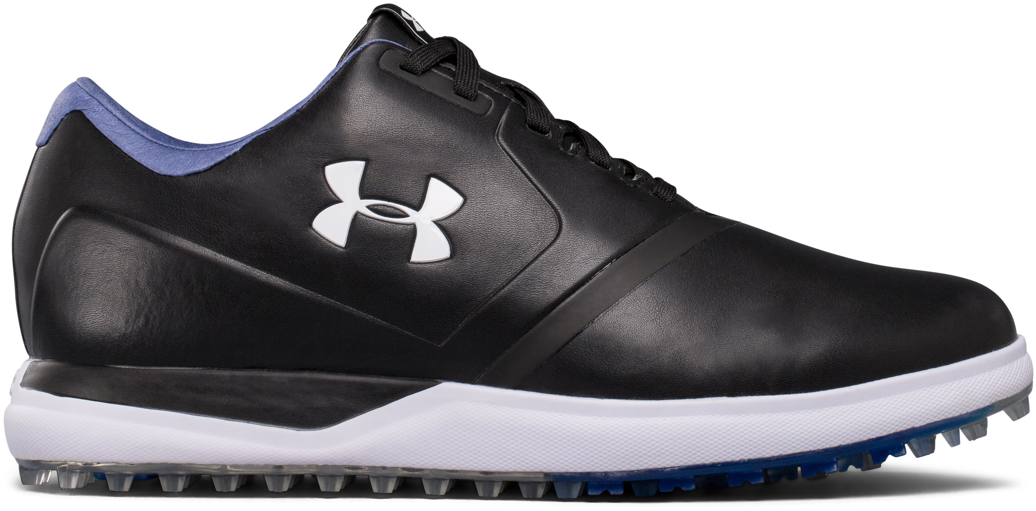 Men's UA Performance Spikeless – Extra Wide Golf Shoes, Black