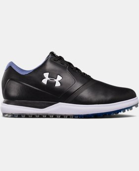 Men's UA Performance Spikeless – Extra Wide Golf Shoes  1  Color Available $70