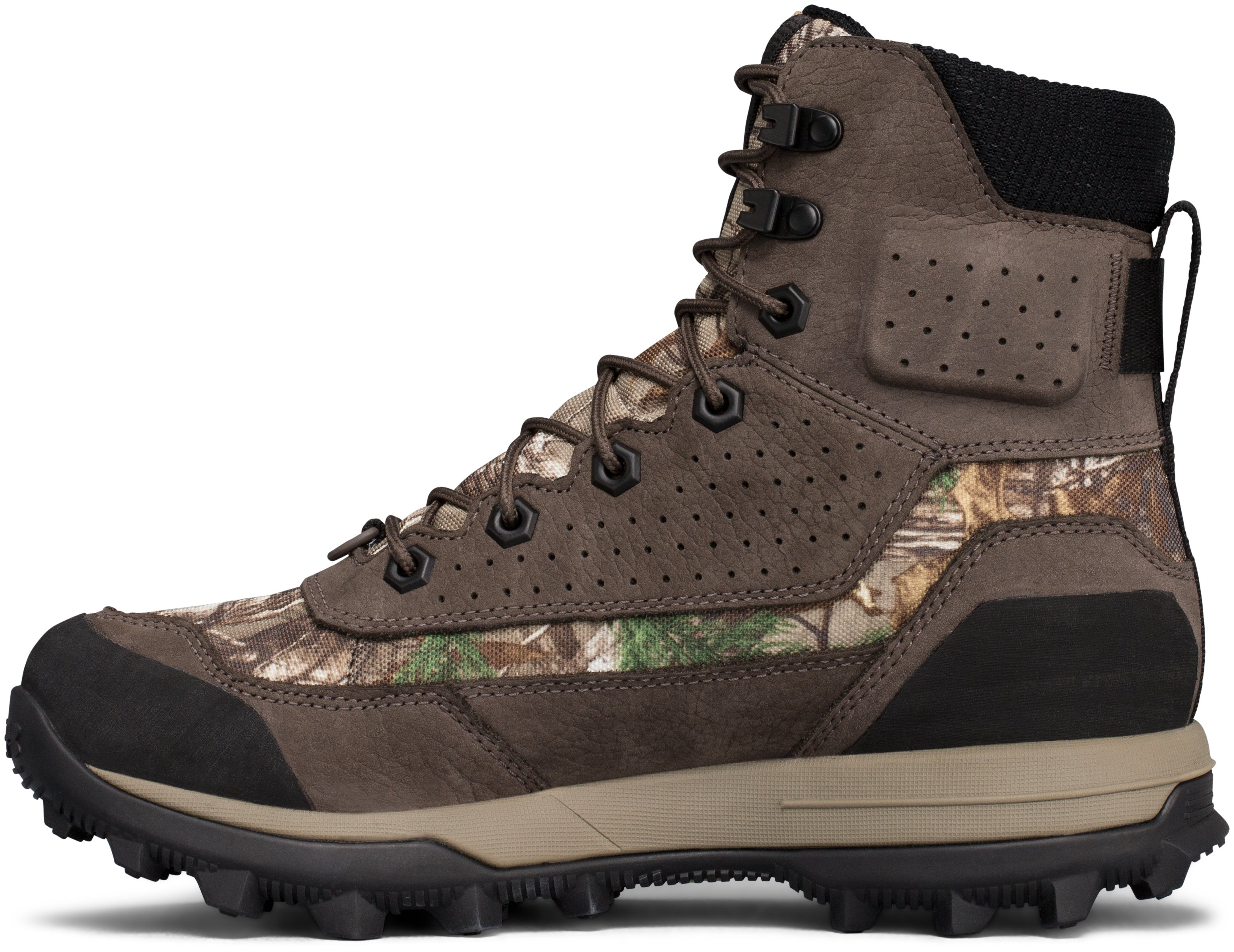 Women's UA Speed Freek Bozeman 2.0 Hunting Boots, REALTREE AP-XTRA, undefined