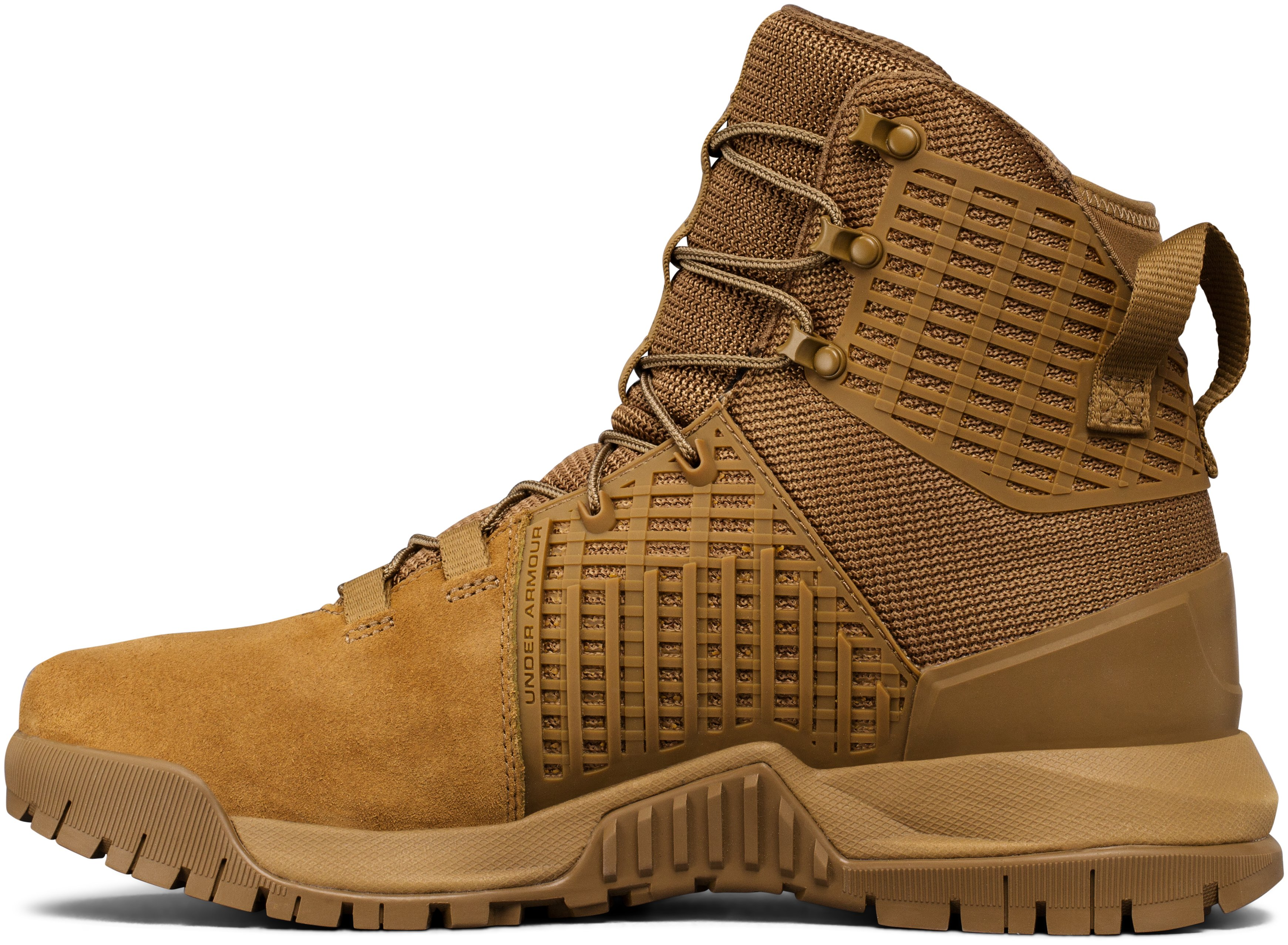 Men's UA Stryker Tactical Boots, Coyote Brown,