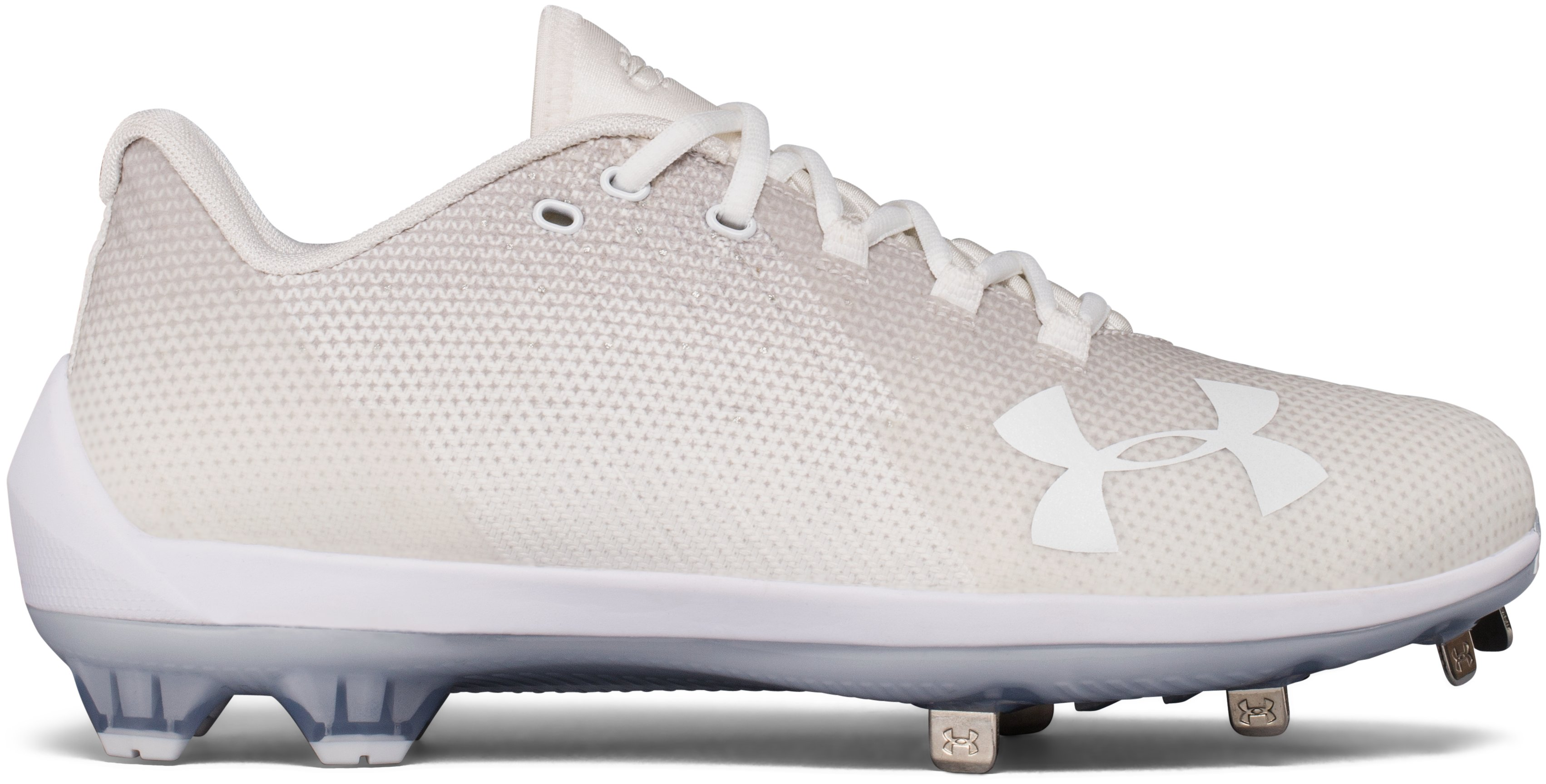 Men's UA Harper 2 Low ST Baseball Cleats, White