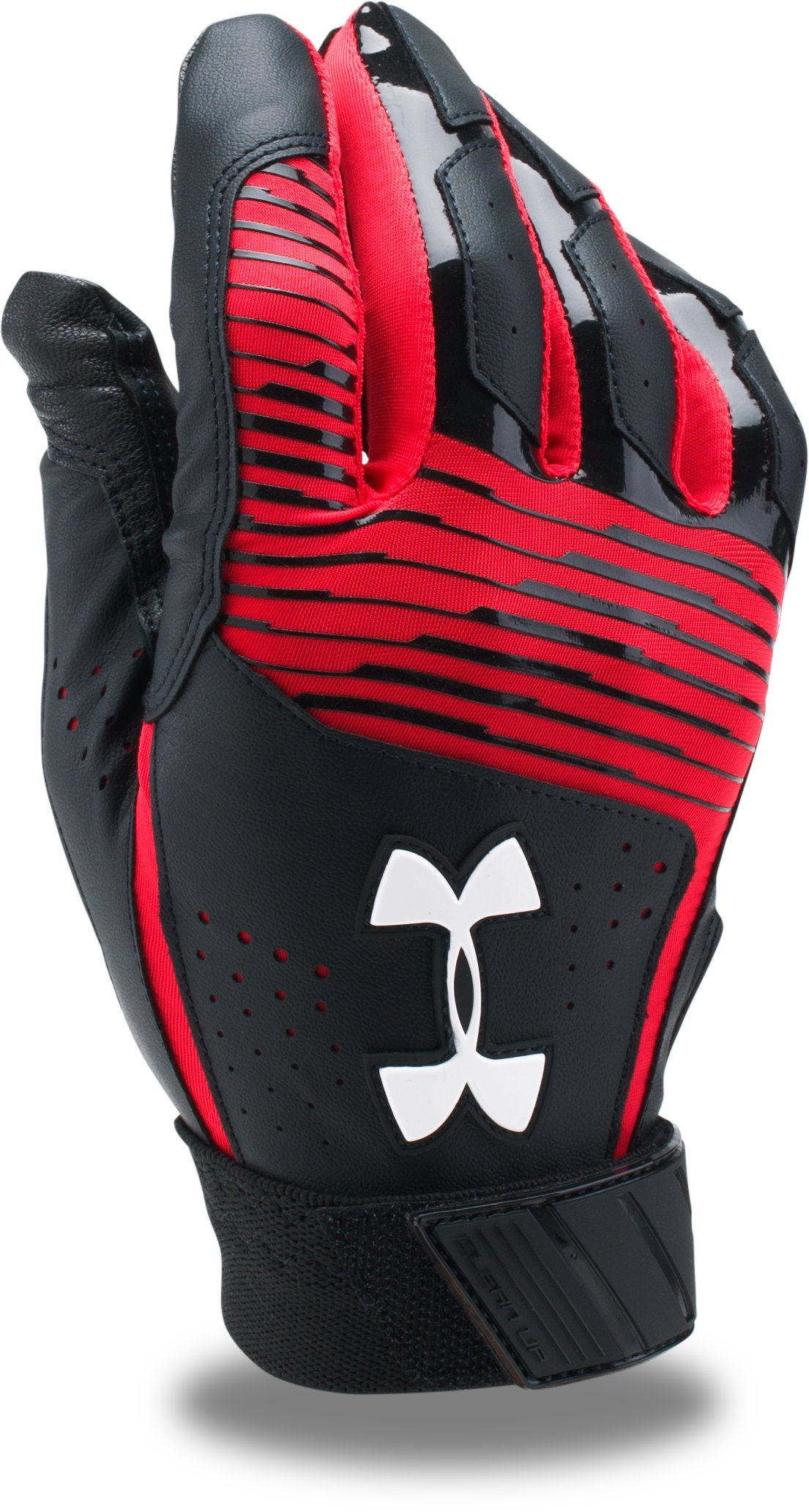 Men's UA Clean Up Baseball Gloves, Black ,