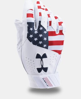 Men's UA Clean Up Printed Baseball Gloves  1 Color $29.99