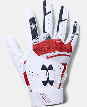 Men's UA Clean Up Printed Baseball Gloves  1  Color Available $29.99