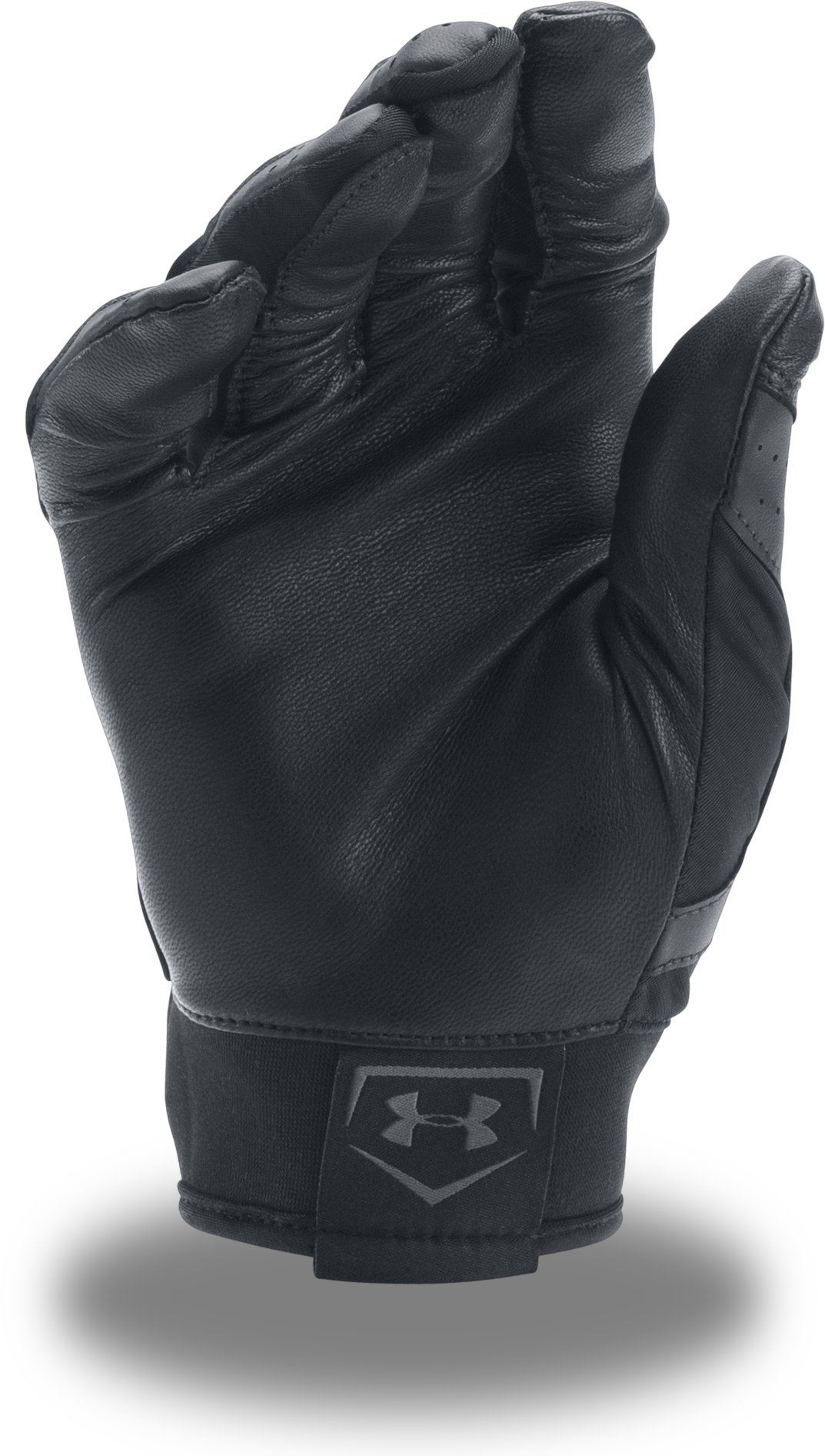 Men's UA Harper Hustle Baseball Gloves, Black , undefined