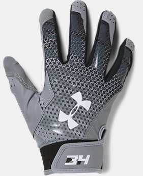 New Arrival  Men's UA Harper Hustle Baseball Gloves  1 Color $39.99