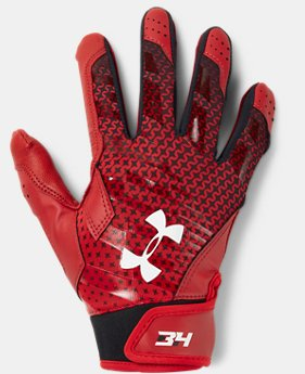 New Arrival Boys' UA Harper Hustle Baseball Gloves  2 Colors $29.99