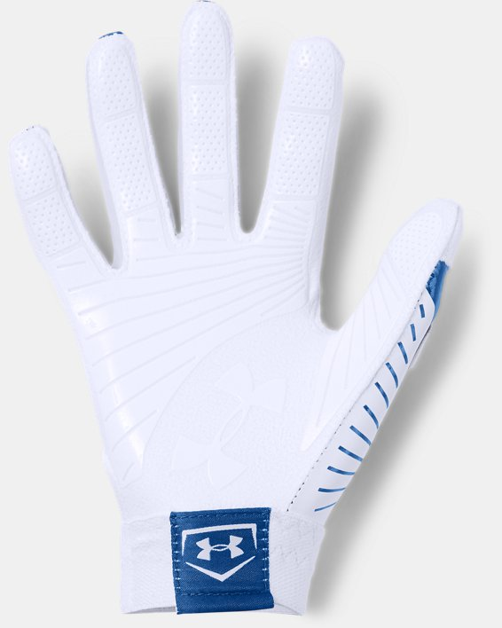 Women's UA Motive Softball Gloves, Blue, pdpMainDesktop image number 1