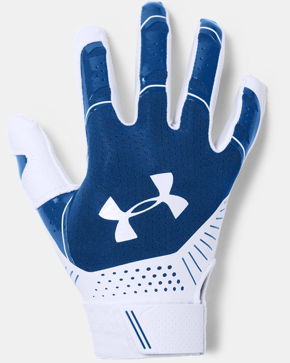 Women's UA Motive Softball Gloves, Blue, pdpMainDesktop image number 0