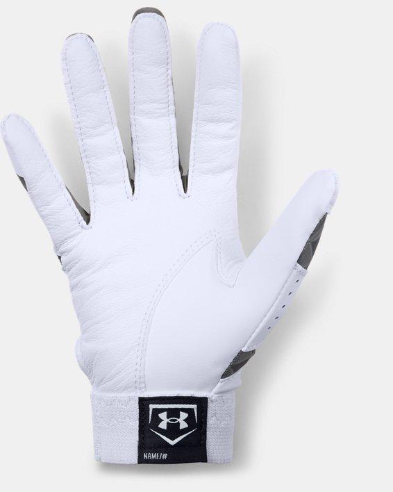 Women's UA Radar Softball Gloves, White, pdpMainDesktop image number 1