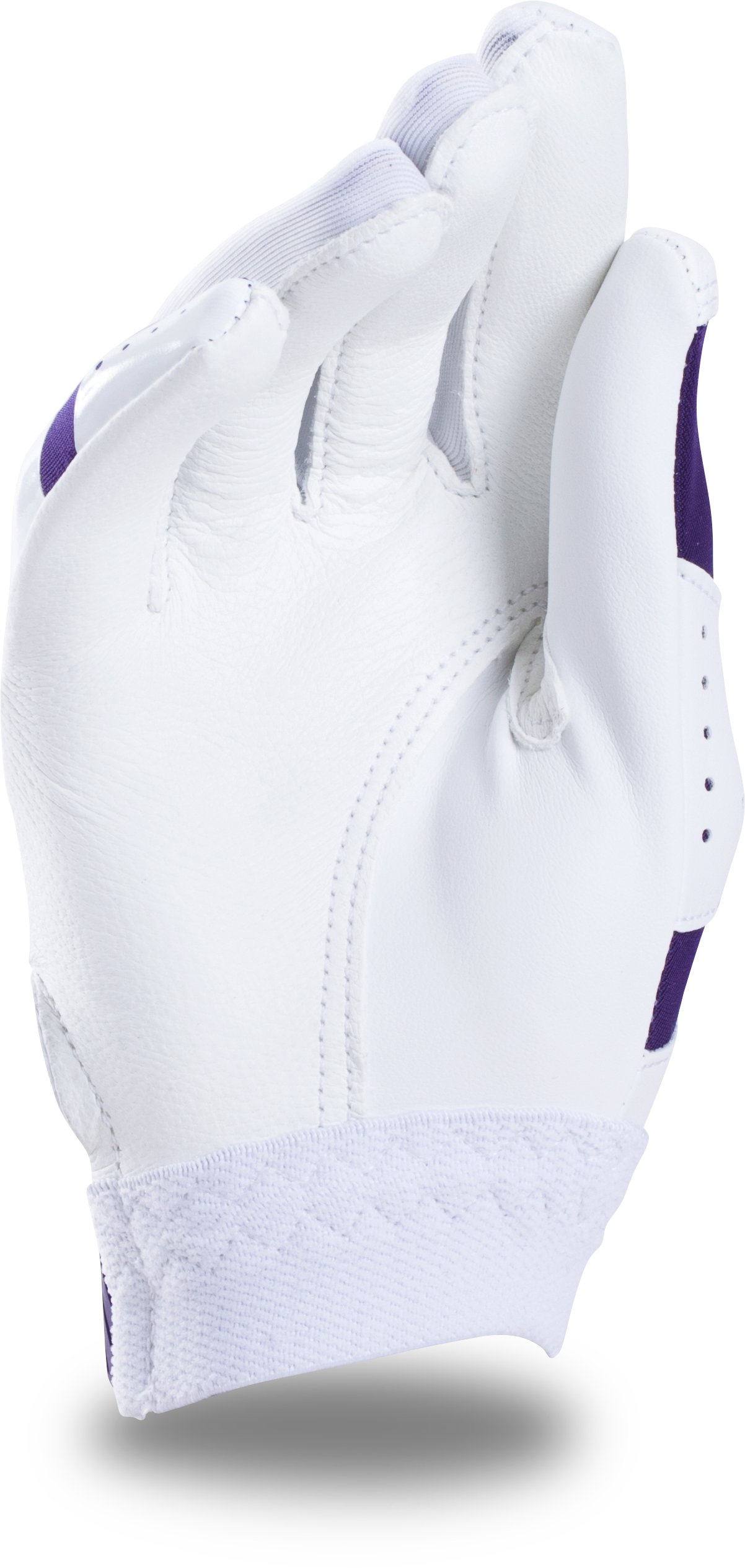 Girls' UA Radar Softball Gloves, Purple,