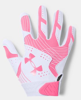 Girls' UA Radar Softball Gloves  1  Color Available $19.99