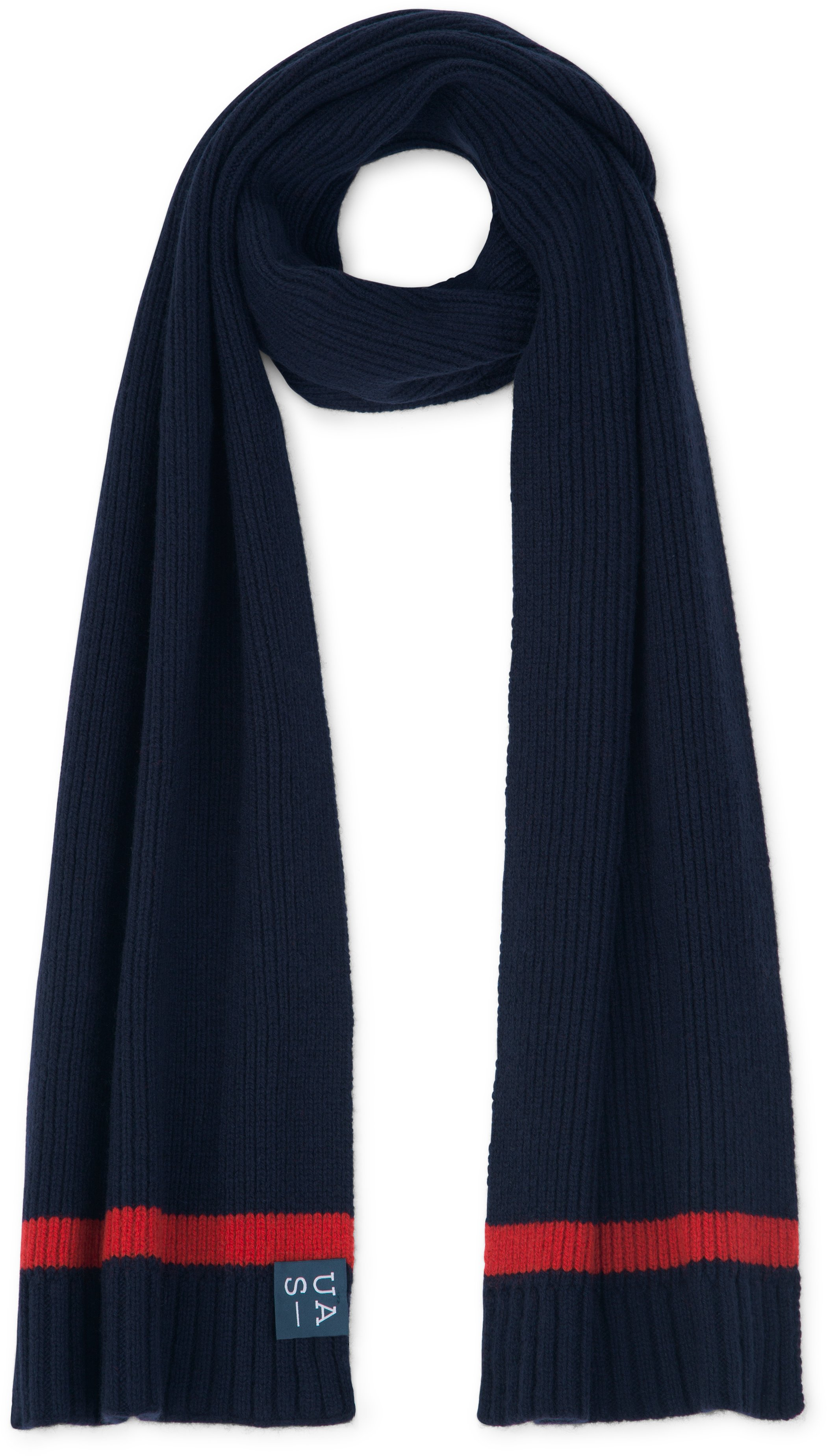 UAS Assembly Knit Scarf, Navy